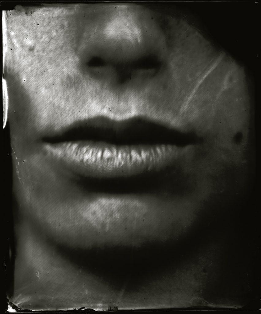 La bouche de Martina