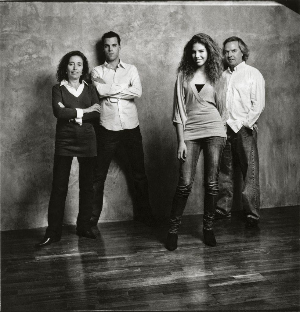 2008 Patxi,Magui,Aitor, Andrea